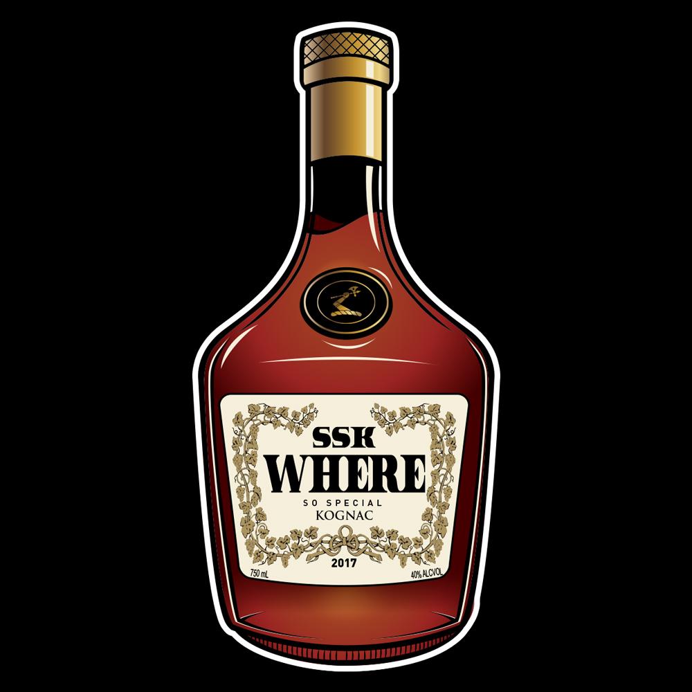 SSK Where Henny Bottle